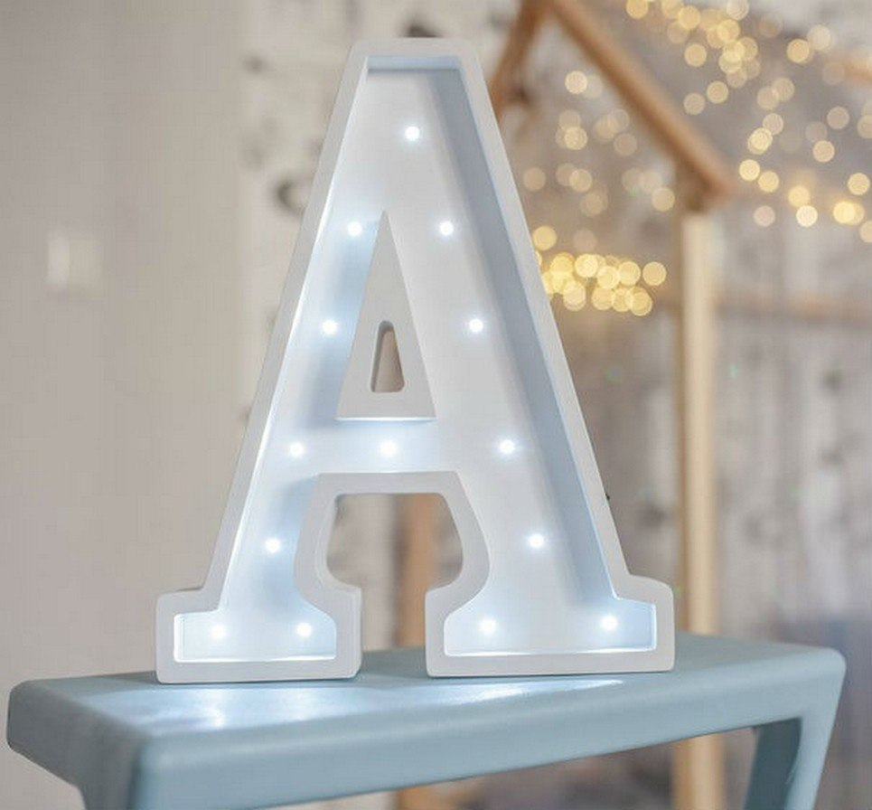 Letter A Marquee Light Sign – 6