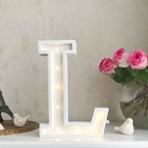 Certain to be a favourite in any family home the Letter L Marquee Light Sign creates a talking point which catches attention and expresses your passion for stand out design. Perfect for anyone who enjoys something a little different.