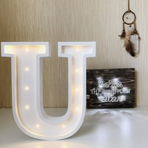 Certain to be a favourite in any family home the Letter U Marquee Light Sign creates a talking point which catches attention and expresses your passion for stand out design. Perfect for anyone who enjoys something a little different.