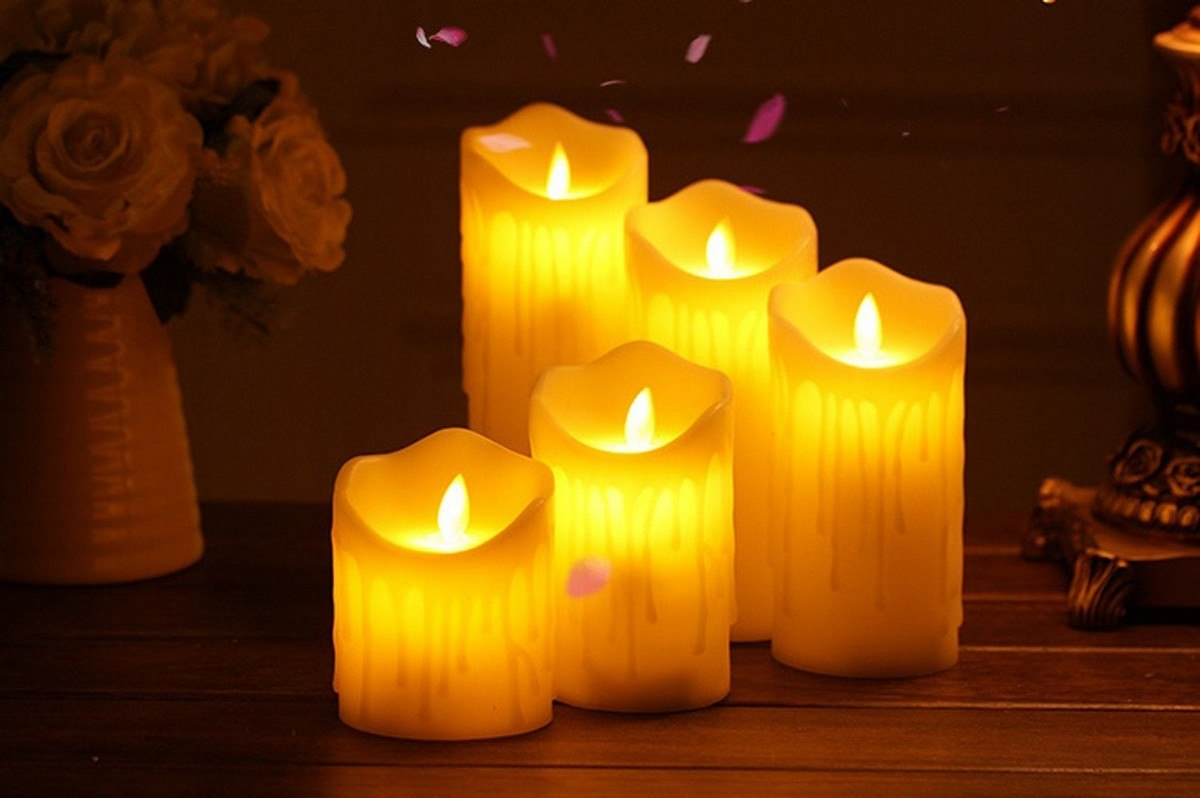 Beautiful Flameless Candles Ideas For Home Decor Home