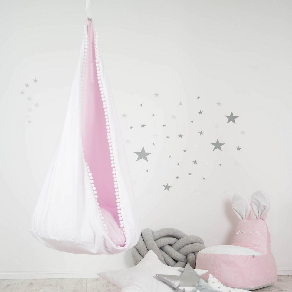 Hanging Cocoon Chair Swing Pink Angel