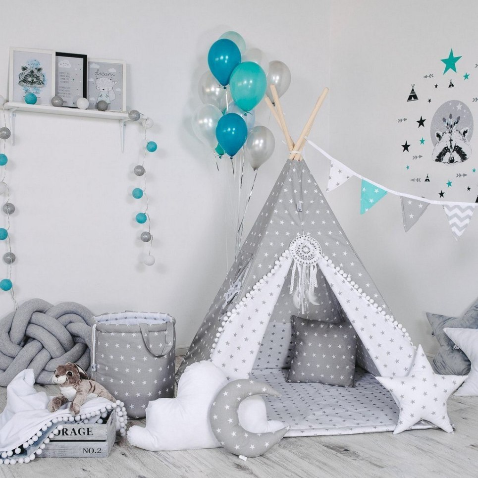 Child's Teepee Set Rabbit's Paw