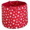 A practical home accessory for a child's bedroom, the Red Star Toy Storage Basket is the perfect storage solution for keeping those runaway toys, books, shoes or laundry at bay.