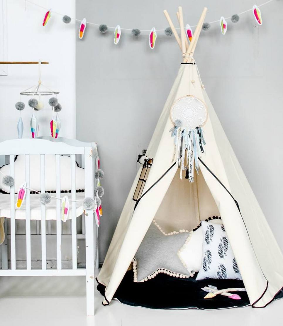 Accent Children's Play Teepee – 4