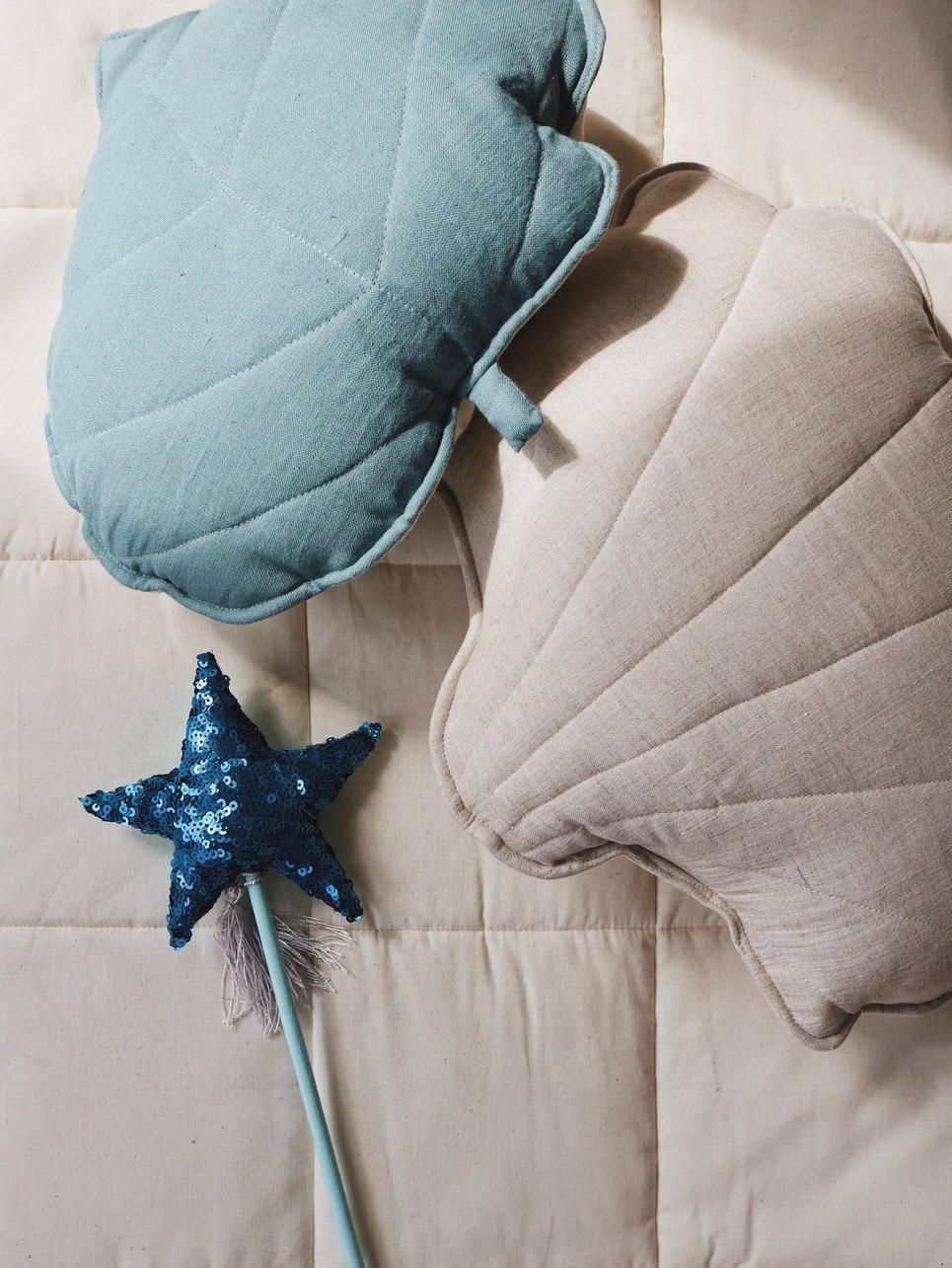 Blue Sequins Magic Wand