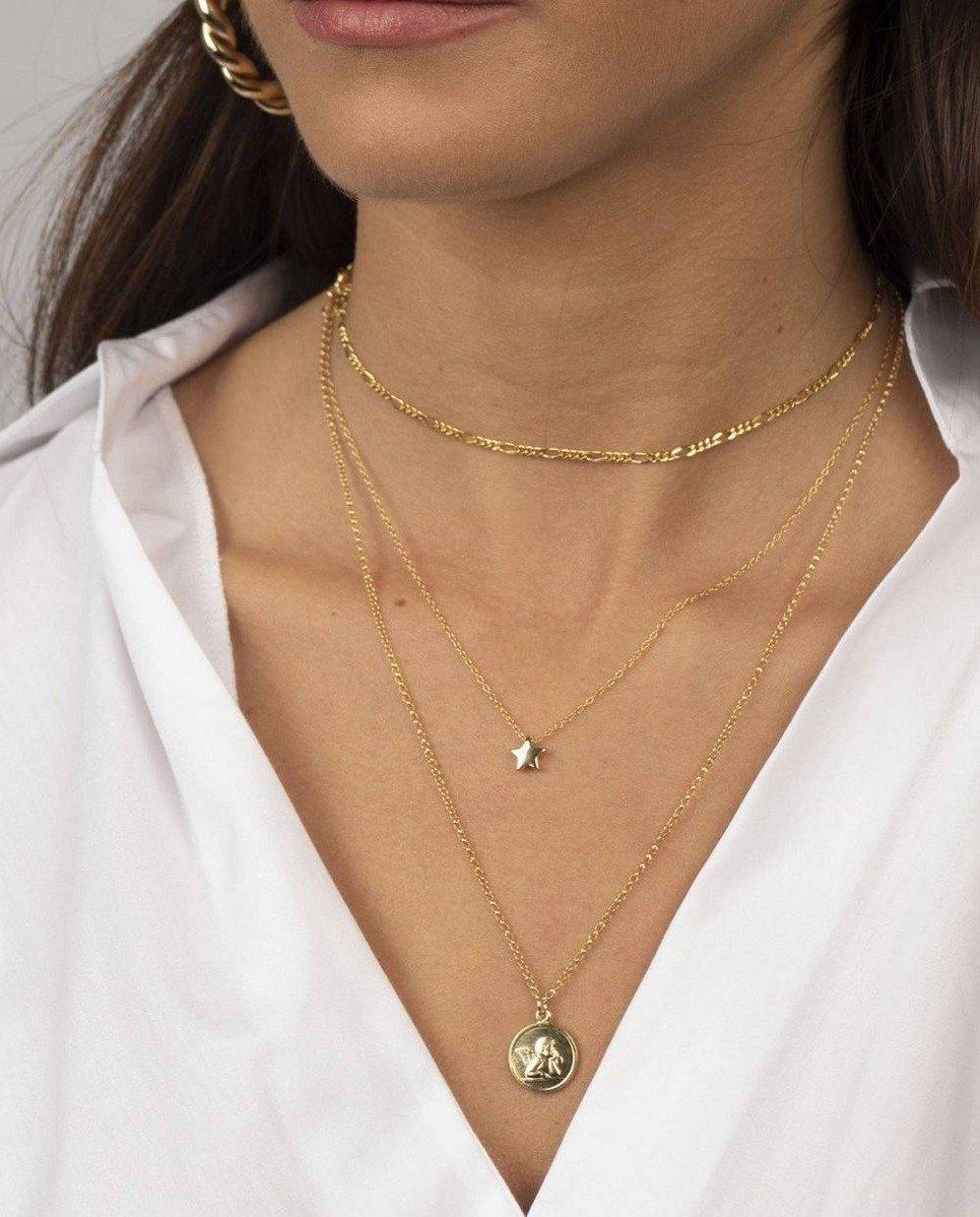 Estrella Gold Necklace