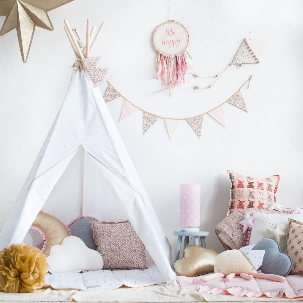 Gold Peas Children's Play Teepee