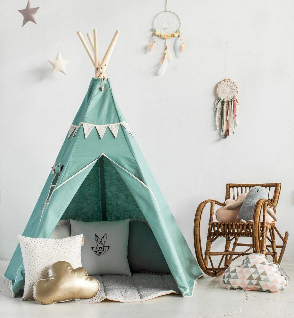 Gold Star Children's Play Teepee