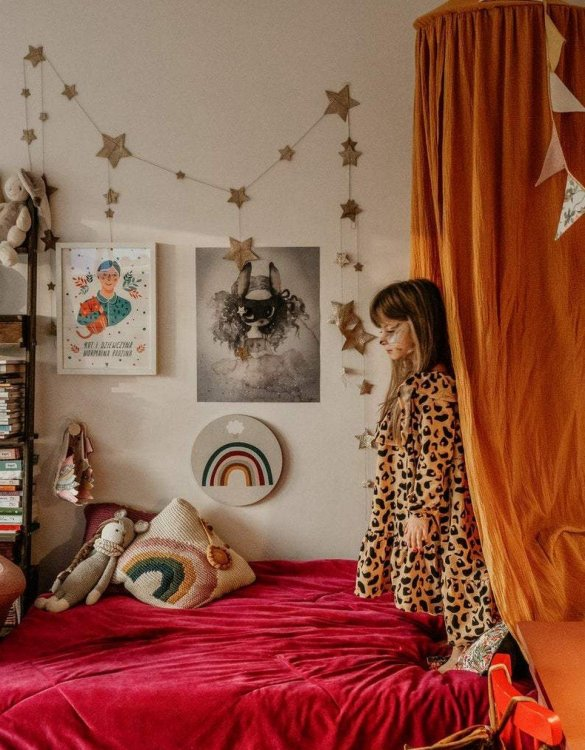 Create a safe fairytale-like environment for little ones with the Honey Children's Bed Canopy. This canopy will suspend neatly above your child's bed or in the corner of room decoration for a baby, to create the perfect space for reading and playing.
