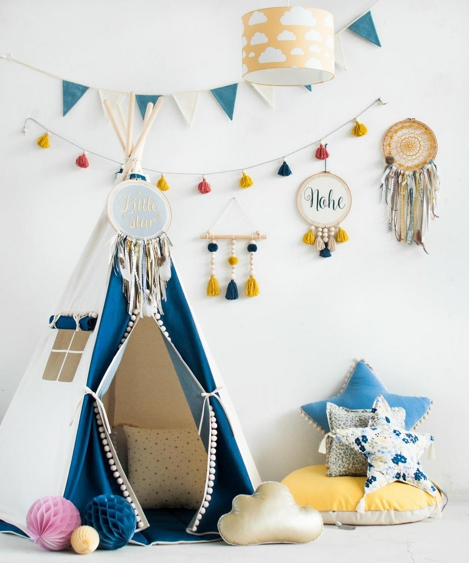 Jeans Children's Play Teepee-min