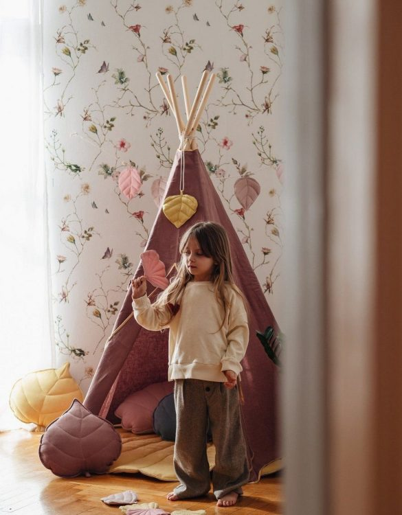 A beautifully handcrafted playtent for little adventurers, the Marsala Children's Play Teepee is a versatile play space which is as beautiful as it is fun. Younger children will enjoy playing camp, hosting a tea party and allowing their imagination to run free (a shop one day a space rocket the next!).