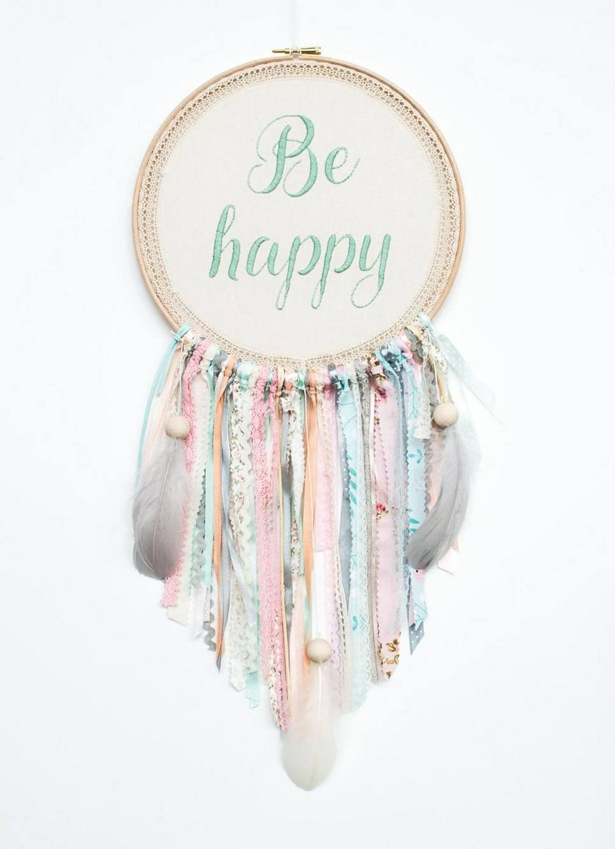 Mint Be Happy Handmade Dream Catcher