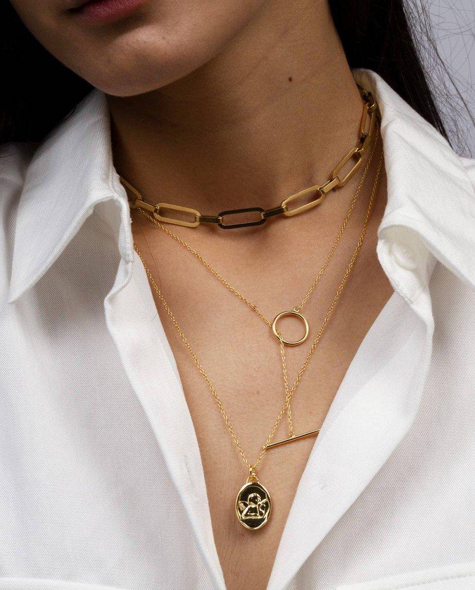 Plaisir Gold Necklace
