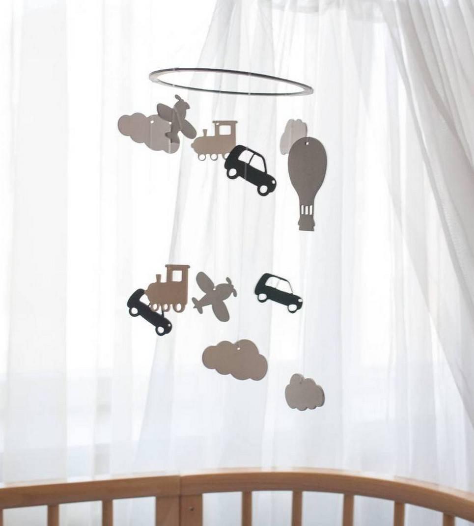Adventure Wooden Baby Mobile