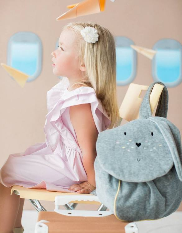 Ideal for all girly girls, the Bunny Children's Backpack is perfect for the animal lover in your family. This backpack is perfect for any little girl who loves to go exploring, to use for school or simply to take out and about on weekends.