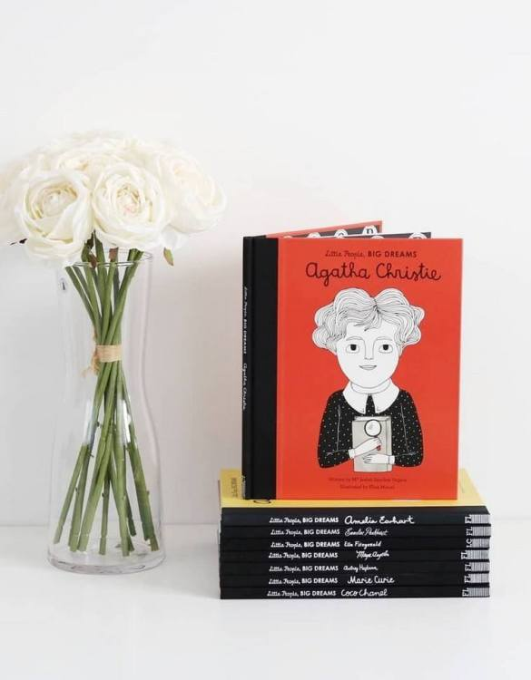 A great gift book for young people, the Little People, Big Dreams: Agatha Christie Children's Book will be a joy a read and keep as a personal and lasting record of time spent with friends both in and out of school.