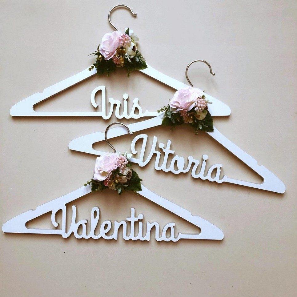 Personalised Bridal Dress Hanger