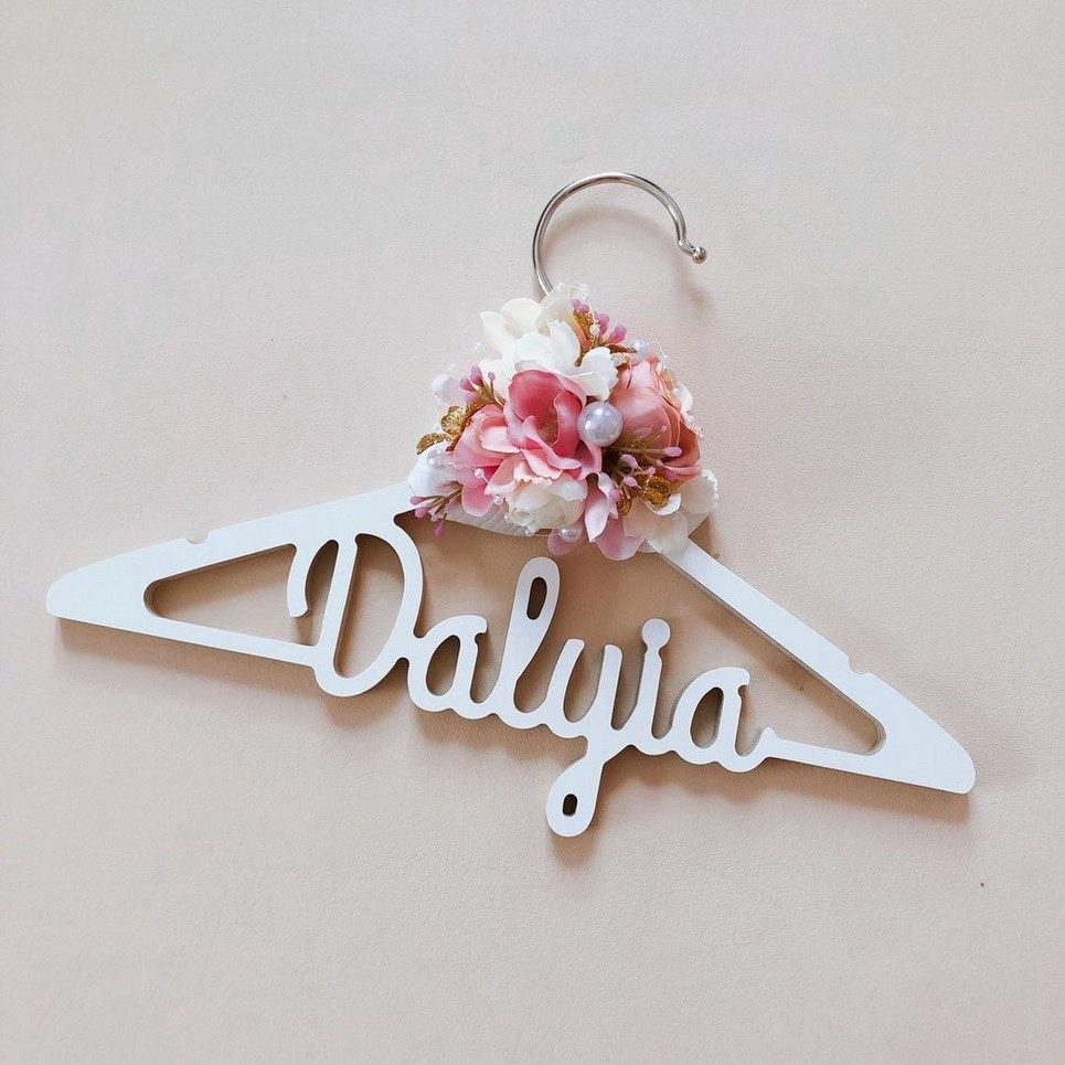 Personalised Children Clothes Hanger