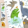 How high are your little creatures? Chart your child's growth development with the Personalised Pterodactyl Dinosaur Child Growth Chart. This personalised growth chart will look perfect in your children's bedroom, nursery or playroom.