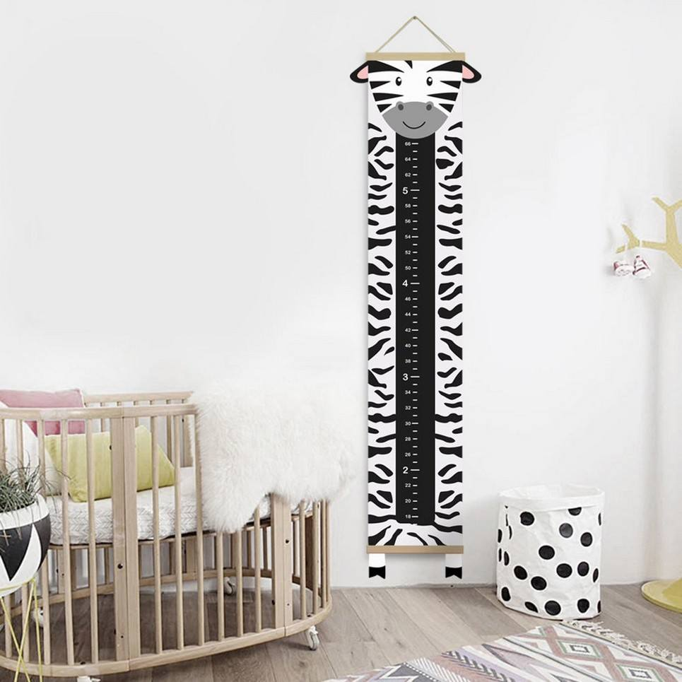 Personalised Zebra Child Growth Chart