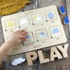 Sure to bring your little one lots of fun the Wooden Weather Puzzle makes a sweet gift for the newest family member to enjoy. A gorgeous keepsake gift that will bring fun and entertainment as they grow.