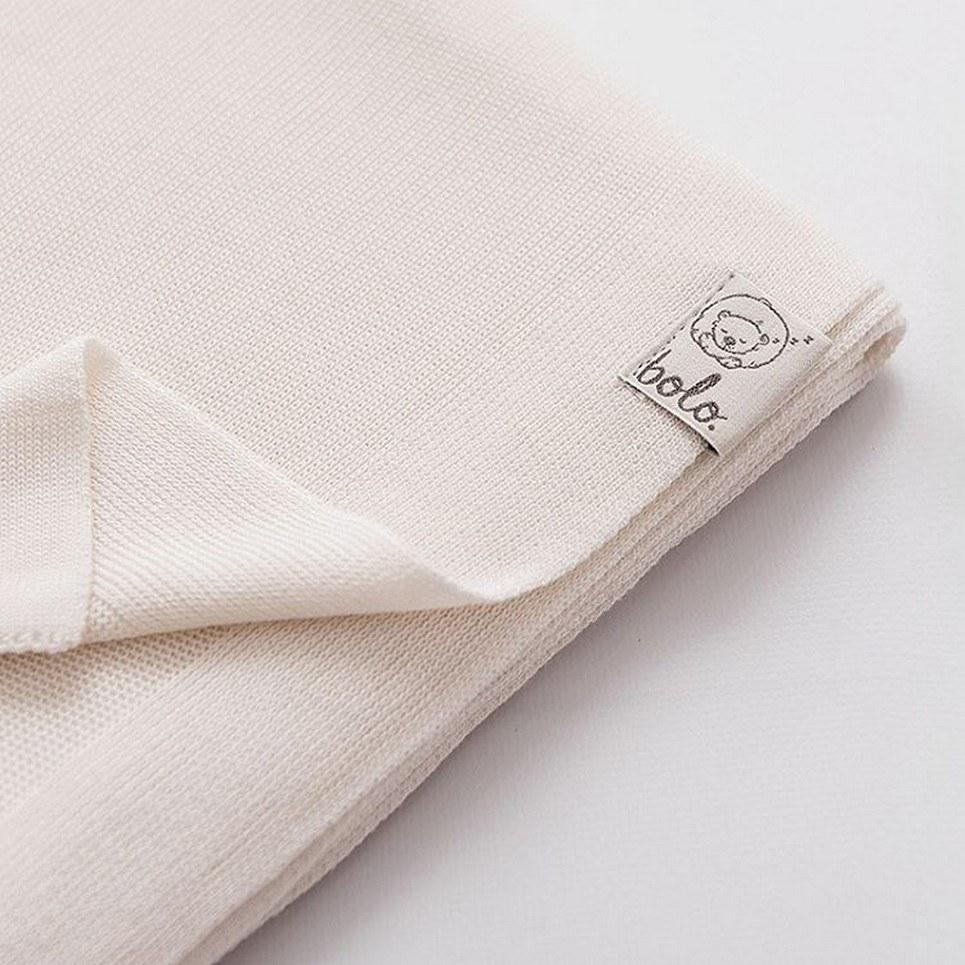 Cream Light Baby Bamboo Blanket – 2