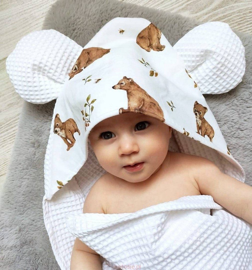 Misio Hooded Baby Towel