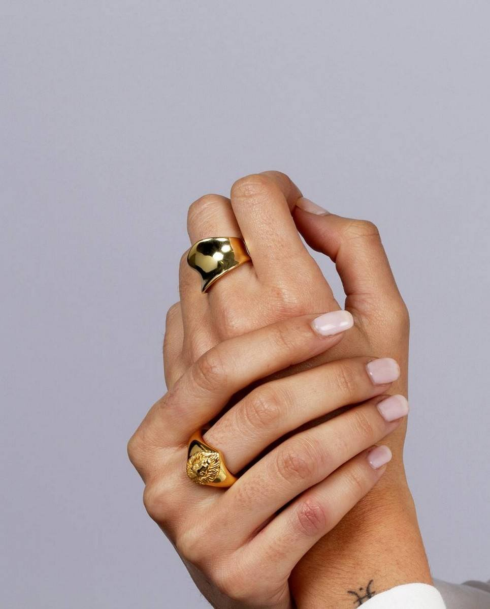 Amore Gold Ring