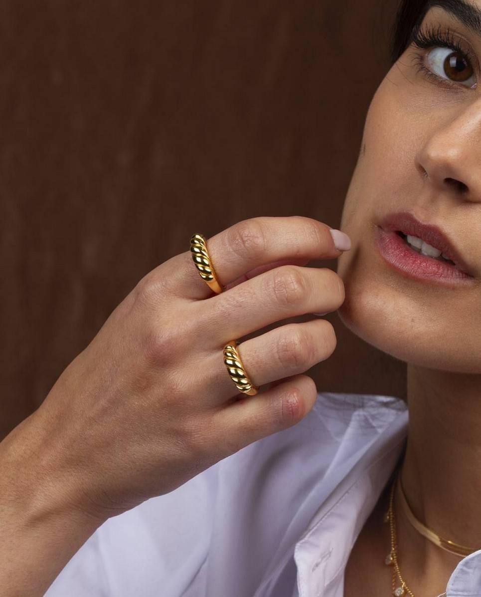 Braid Gold Ring