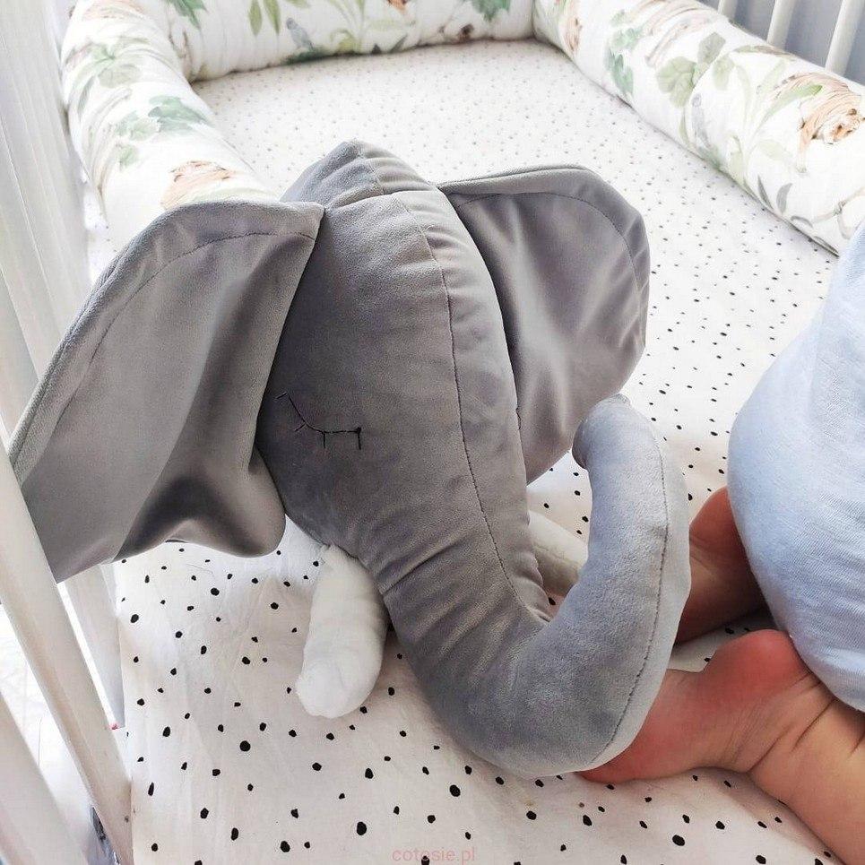 Elephant Cot Bumper