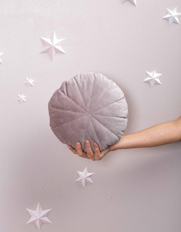 Completely handmade, the Grey Velour Circle Pillow is the perfect gift to welcome the new addition. It's the perfect accessory for your sofa or armchair and with a choice of on-trend colours, you're bound to find a shade to suit your home.