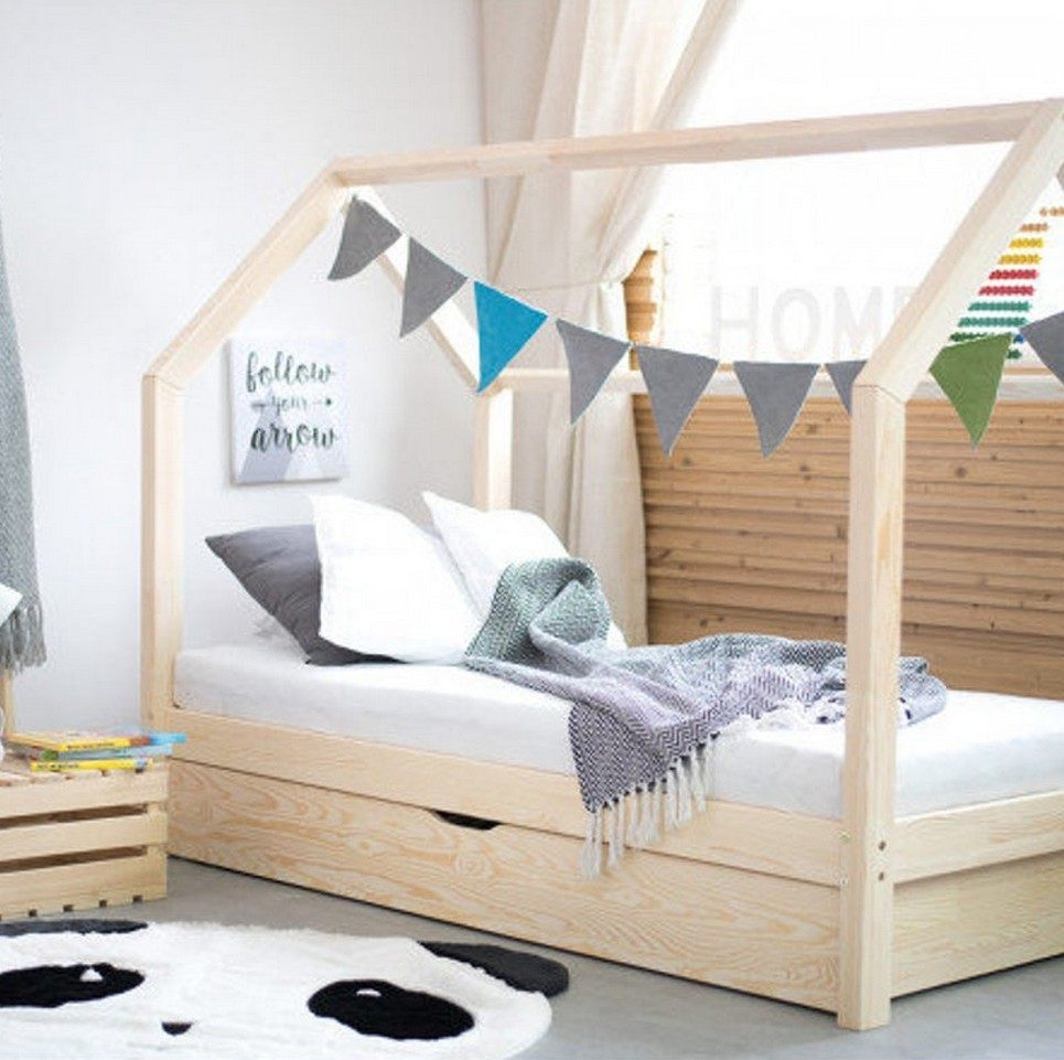 Hausbett Children's House Bed with Drawer