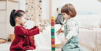 Blocks are perhaps the most basic kinds of toys, but they're anything but boring. Blocks are universally entertaining, but while your little one discovers the joys of building and stacking, they're also learning a lot. In addition to improving motor skills, playing with blocks also enhances problem-solving abilities.