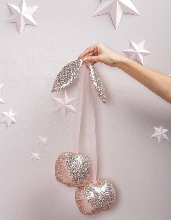 A baby or toddler wall hanging, the Light Pink Cherry Wall Decor makes the cutest gift idea for a new mum and baby. This will make a gorgeous keepsake for years to come and can be admired by all.