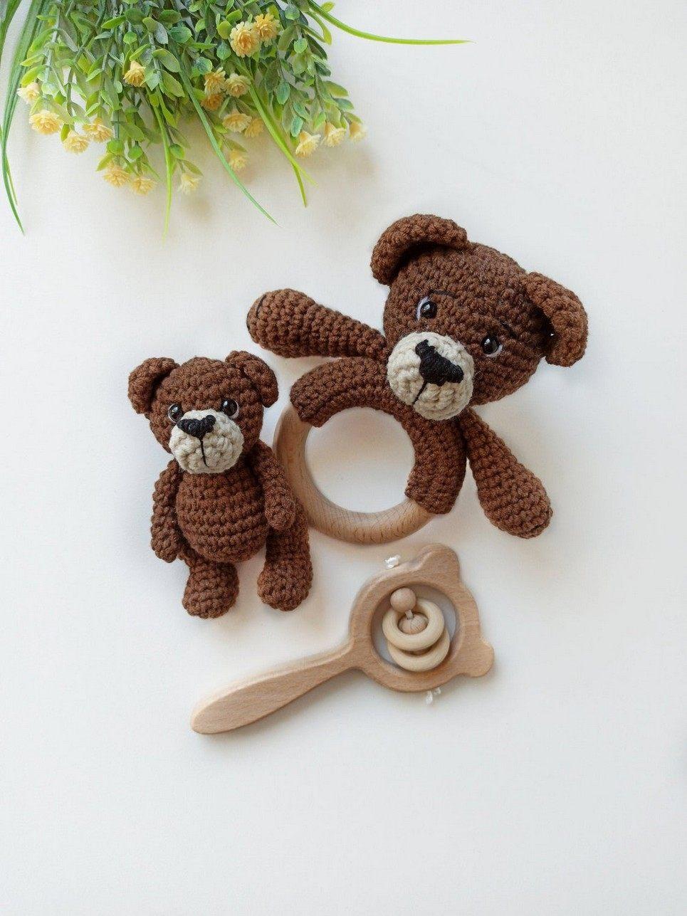 Personalised Bear Baby Gift Set