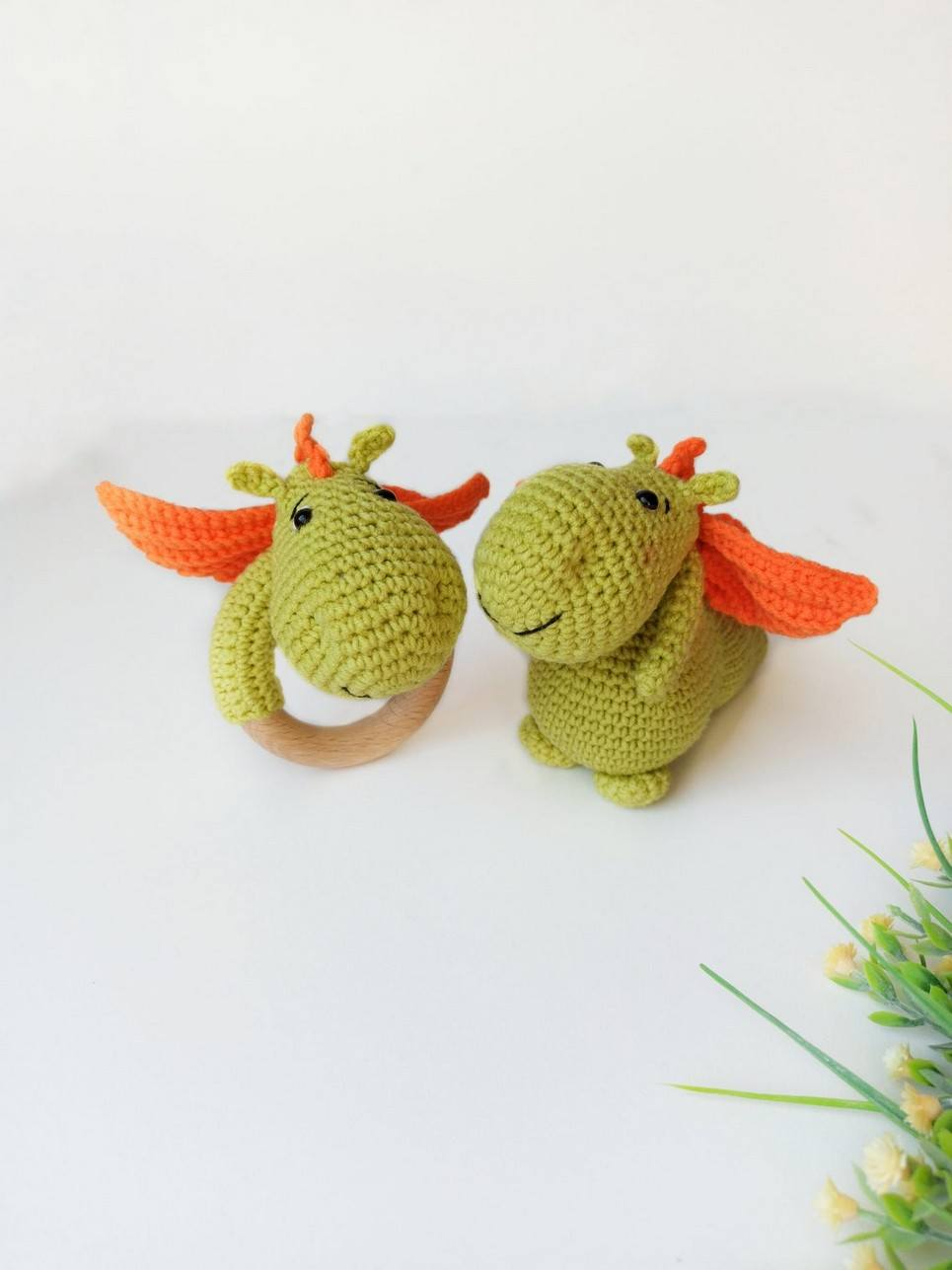 Personalised Fairy Dragon Baby Gift Set