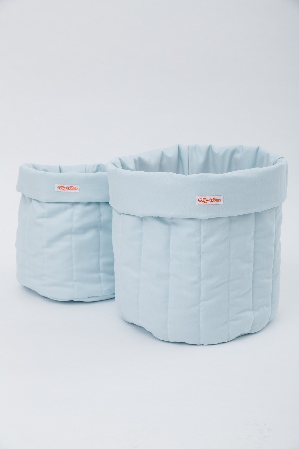 Plain Blue Toy Storage Bag