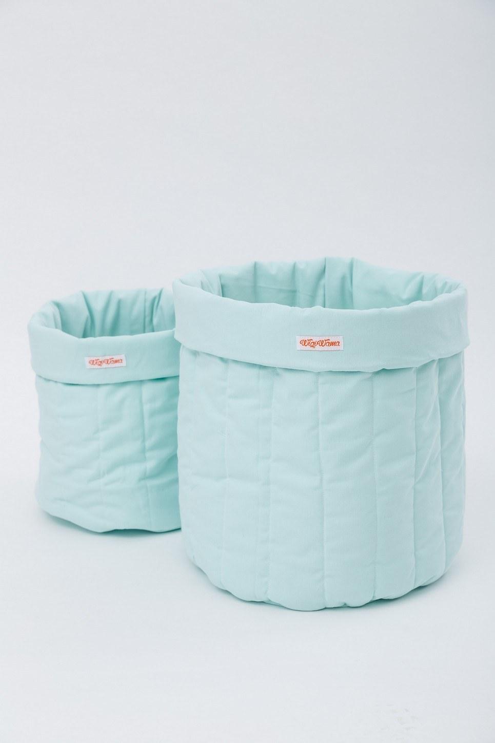 Plain Mint Toy Storage Bag