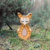 Light up your little one's room with the Wooden Fox Lamp, we think bedtime just got easier! The children's night light will help inspire your kids' love for the outdoors and dreams of big adventures and will help add a sense of calm to your little one's bedroom.