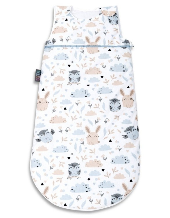 Cosy and beautifully designed, the Animals Baby Sleeping Bag is perfect for bedtime and naps whether at home, abroad or visiting friends. Sleeping bags are a fantastic idea for wriggly babies.