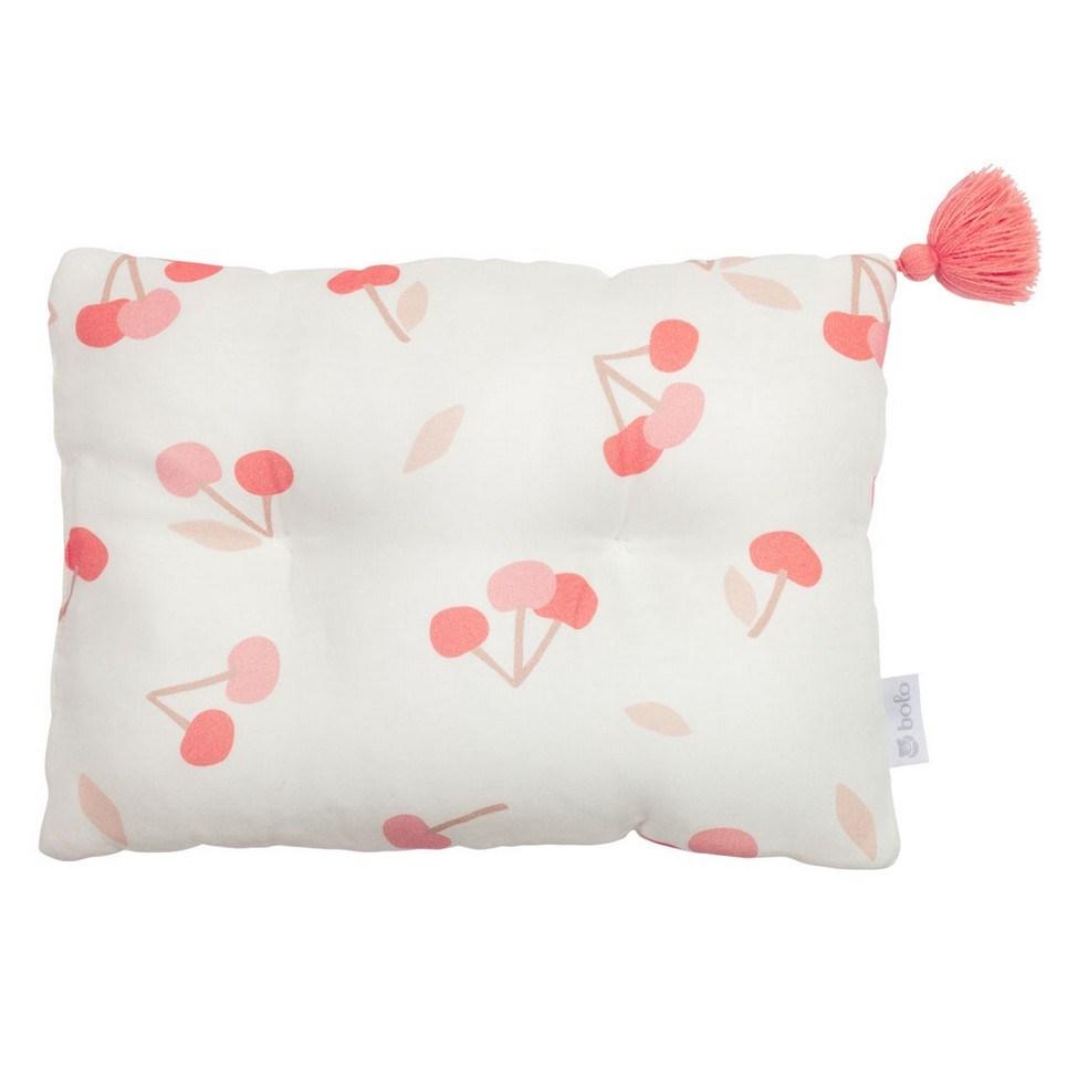 Cherries Bamboo Baby Pillow