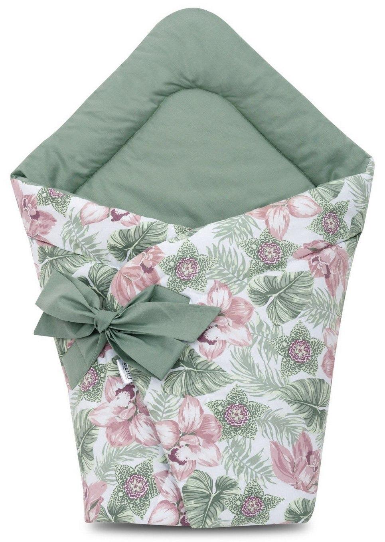 Floral Swaddle Blanket