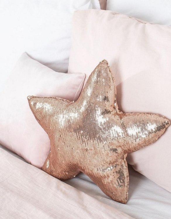 Completely handmade, the Gold Sequins Star Decor Pillow is the perfect gift to welcome the new addition. It's the perfect accessory for your sofa or armchair and with a choice of on-trend colours, you're bound to find a shade to suit your home.