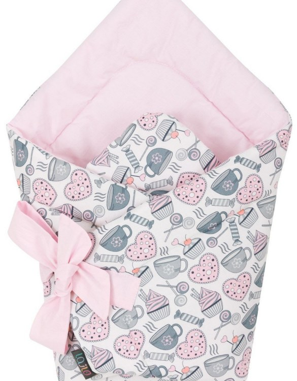 A delightful new-born baby or baby shower present, the Muffin Break Swaddle Blanket makes a truly unique gift. Babies love to be cuddled from birth as it reminds them of the womb- an environment they spent a lot of time in while they developed.