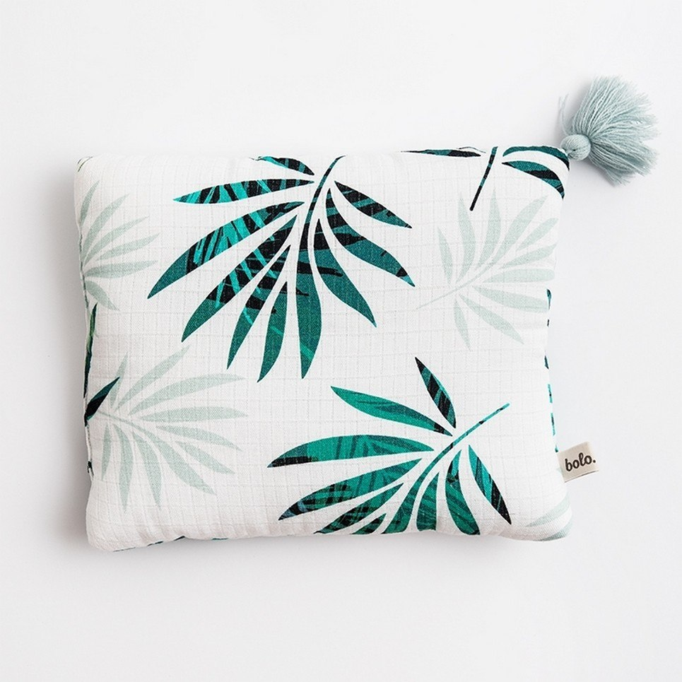 Palm Trees Baby Muslin Pillow