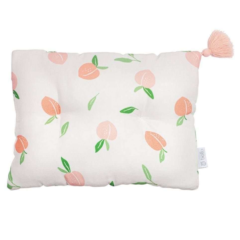 Peaches Bamboo Baby Pillow