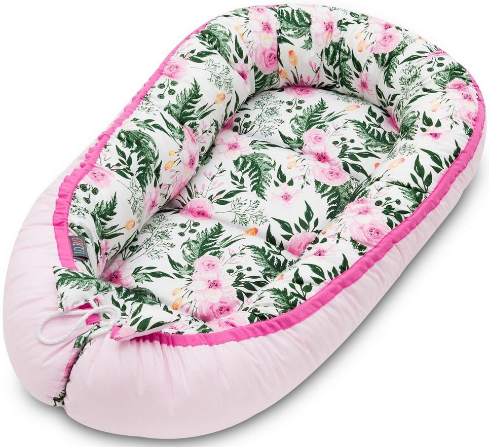 Pink Blossom Baby Nest Cocoon