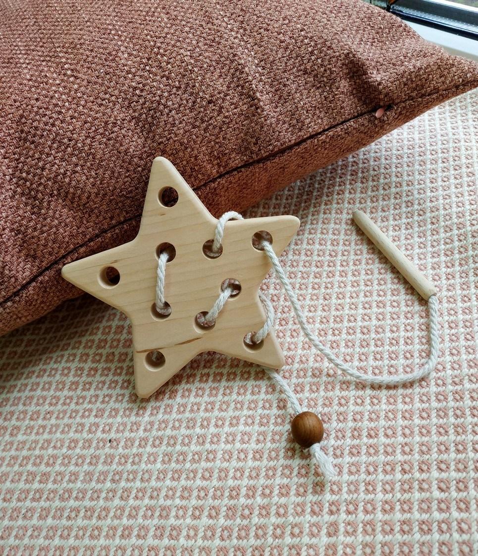 Star Wooden Star Toy