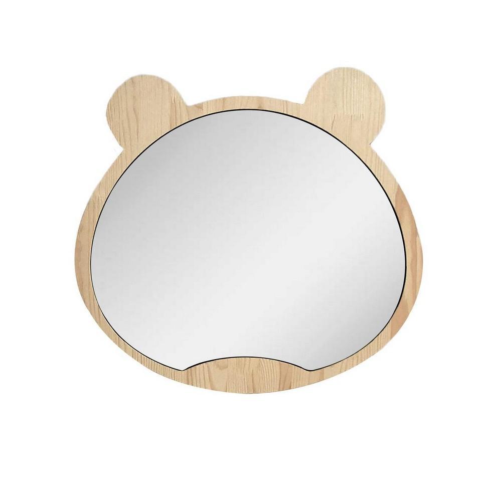 Big Solid Pinewood Mirror Bear