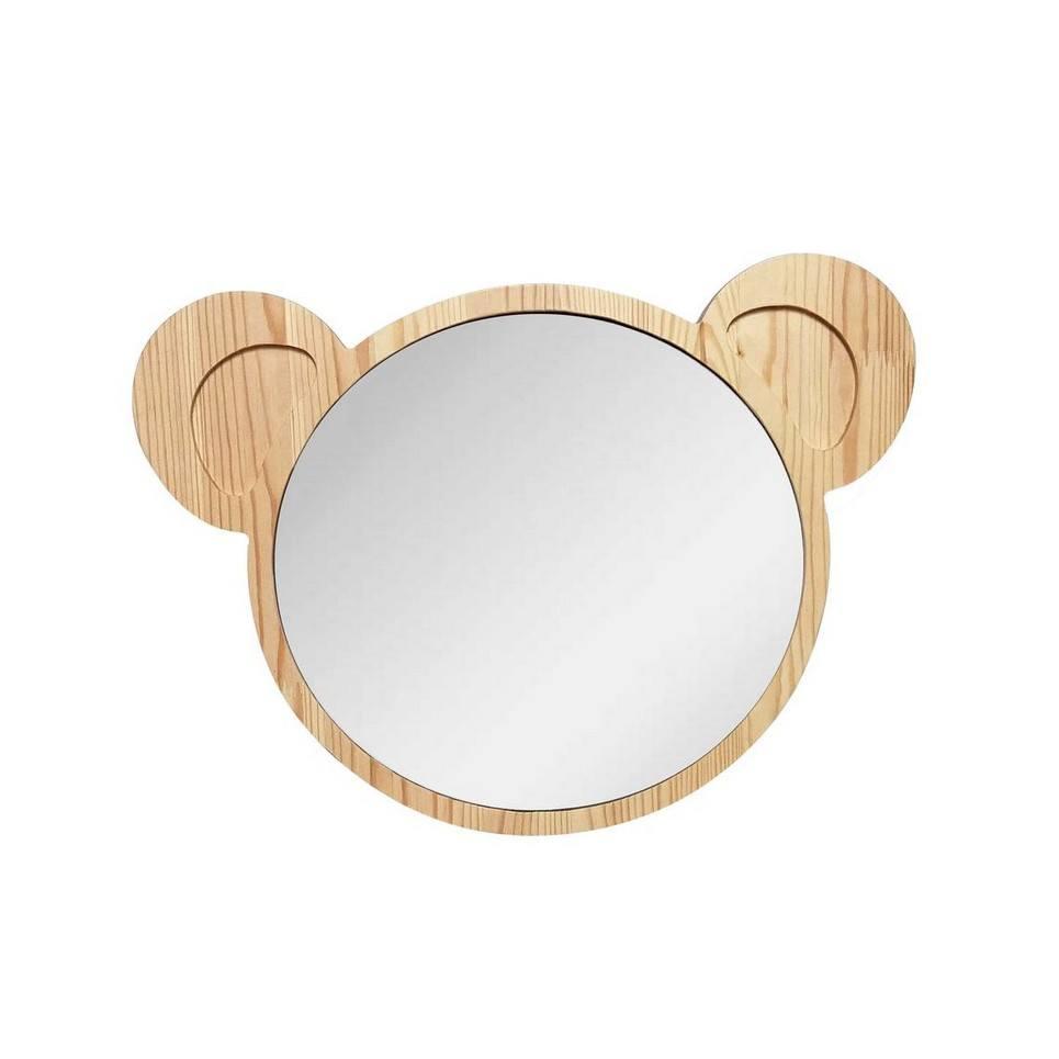 Big Solid Pinewood Mirror Koala – 1